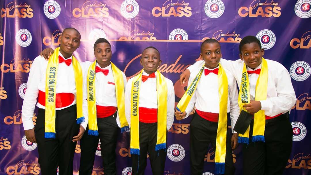 Graduating Students: Year 6 Students of Start-Rite Schools